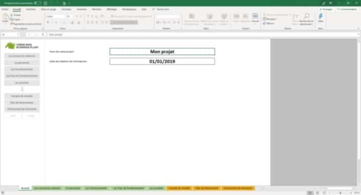 Business Plan Simulation-financiere Page 1