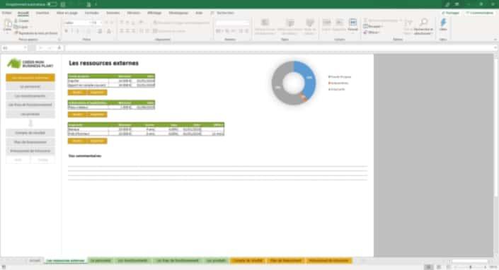 Business Plan Simulation-financiere Page 2