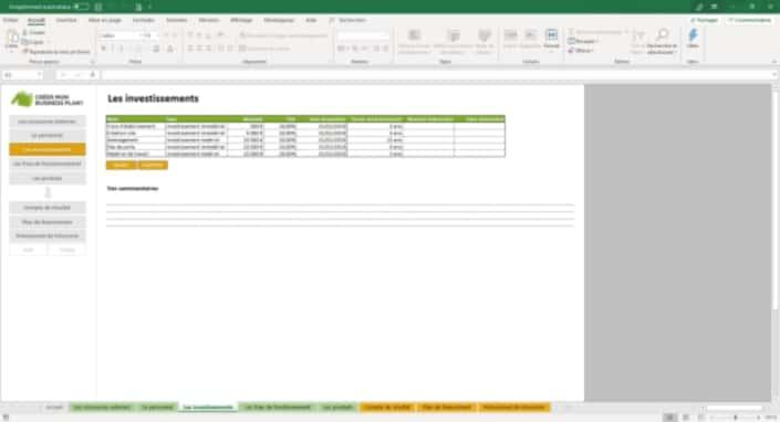 Business Plan Simulation-financiere Page 4