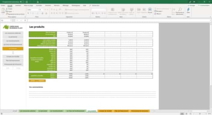 Business Plan Simulation-financiere Page 6