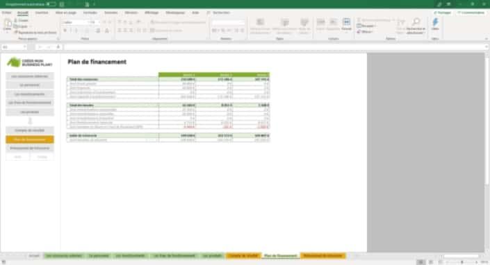 Business Plan Simulation-financiere Page 8